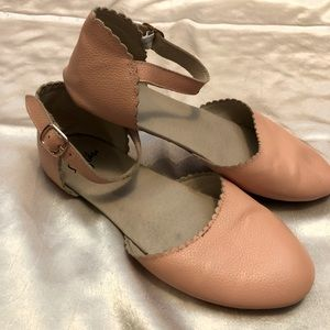 COPY - Delicate pink Mary Jane sandals